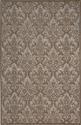 Nourison Damask DAS02 Brown