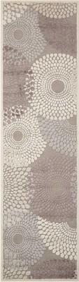 Nourison Graphic Illusions Gil04 Gray/Silver