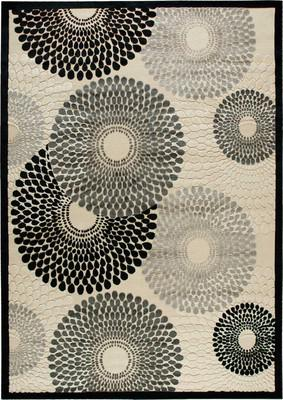 Nourison Graphic Illusions Gil04 White/Ivory