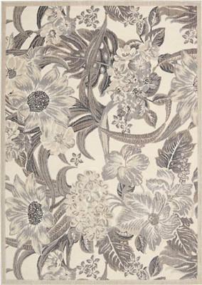 Nourison Graphic Illusions GIL26 White/Ivory