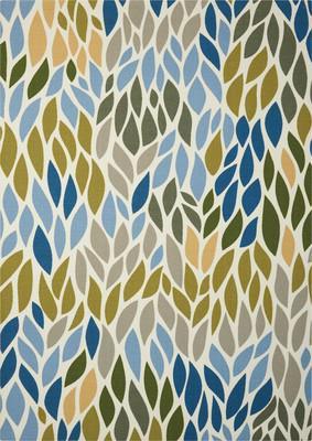 Nourison Home & Garden RS094 Green