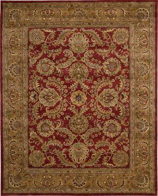 Nourison Jaipur Ja17 Red/Burgundy