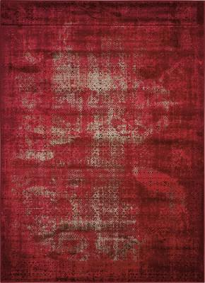 Nourison Karma Krm01 Red/Burgundy