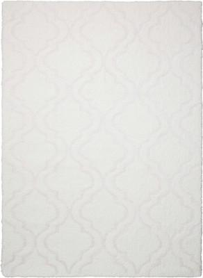 "Nourison Light & Airy KIT01 White/Ivory 7'6""X9'6"""