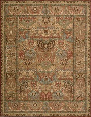 Nourison Living Treasures Li02 Brown