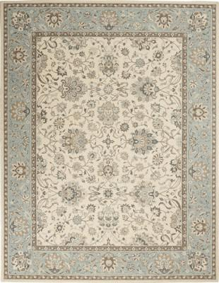 Nourison Living Treasures Li16 White/Ivory