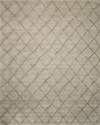 """Nourison Lunette LNT01 Gray/Silver 5'0"""" X 7'6"""""""