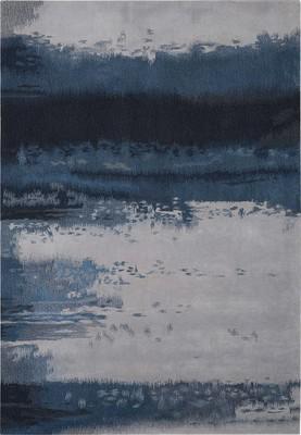 Nourison Luster Wash Sw17 Blue/Navy