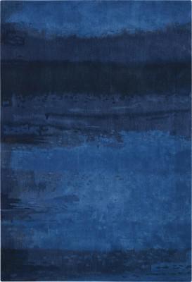 Nourison Luster Wash Sw18 Blue/Navy