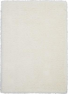"Nourison Luxe Shag LXS01 White/Ivory 9'0"" X 12'0"""