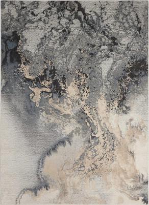 Nourison Maxell Mae08 Gray/Silver