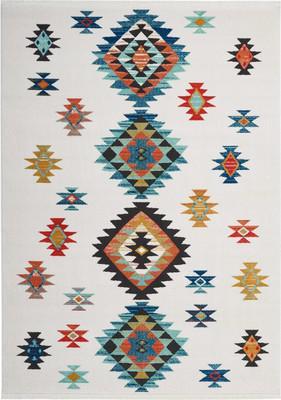 Nourison Navajo NAV07 White/Ivory