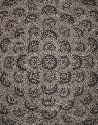 Nourison Nourison 2000 2335 Gray/Silver