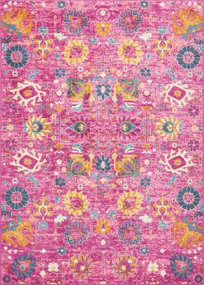 "Nourison Passion PSN01 Pink/Purple 3'9"" X 5'9"""