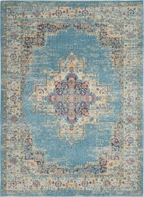"Nourison Passion PSN03 Blue/Navy 3'9"" X 5'9"""