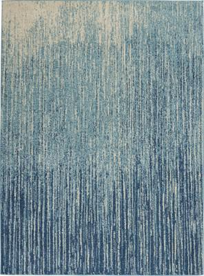 "Nourison Passion PSN09 Blue/Navy 5'3"" X 7'3"""