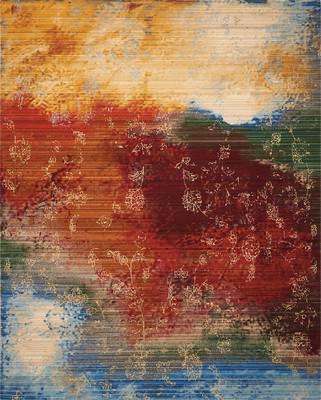 Nourison Rhapsody Rh016 Orange/Rust