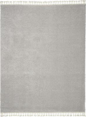Nourison Serenity Shag SRS04 Gray/Silver