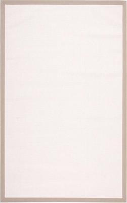"Nourison Sisal Soft SSF02 White/Ivory 5'0"" X 8'0"""
