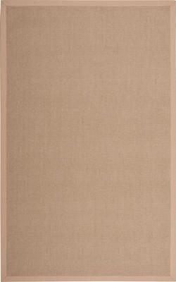 "Nourison Sisal Soft SSF04 Brown 8'0""X10'0"""