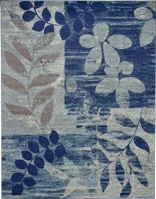 """Nourison Tranquil TRA01 Blue/Navy 8'10"""" X 11'10"""""""