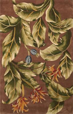 Nourison Tropics Ts02 Brown