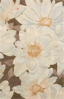 Nourison Tropics Ts13 White/Ivory