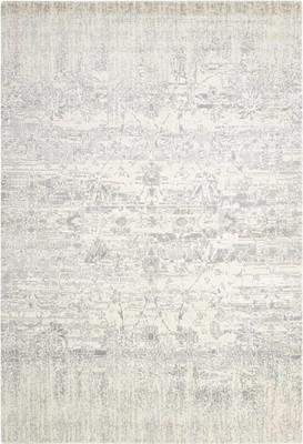 "Nourison Twilight TWI02 White/Ivory 5'6"" X 8'0"""