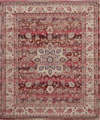 Nourison Vintage Kashan VKA01 Red/Burgundy 7'10