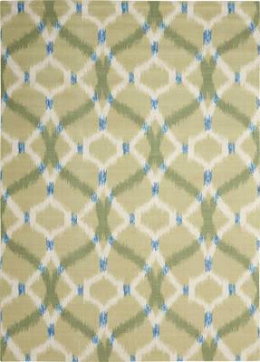 Nourison Wav01/Sun & Shade SND05 Green