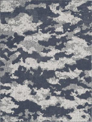Nourison Zermatt ZER01 Blue/Navy 7'10