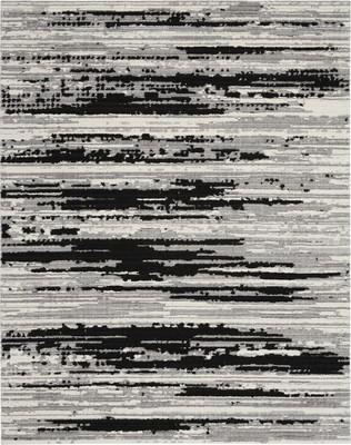 Nourison Zermatt ZER02 Gray/Silver 7'10