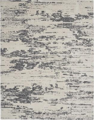 Nourison Zermatt ZER03 White/Ivory 7'10