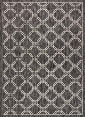 """Nourison Country Side CTR02 Gray/Silver 7'10""""X10'6"""""""