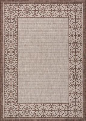 """Nourison Country Side CTR03 Brown 7'10""""X10'6"""""""