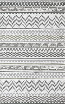 Dynamic Aztec kha-Arl Gray/Silver