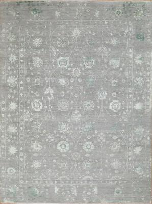 "Seattle Rug New Castle Sea-New-gbp Gray/Silver 9'0""x12'0"""
