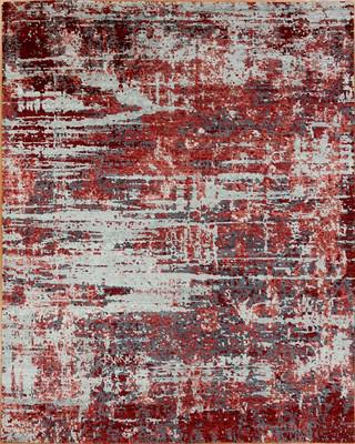 "Seattle Rug Everette Sea-Eve-qtd Red/Burgundy 3'0""x5'0"""
