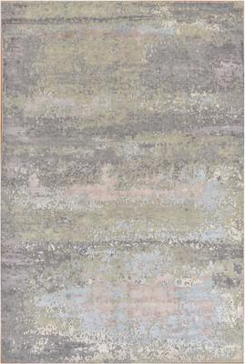 "Seattle Rug Everette Sea-Eve-wpw Gray/Silver 4'0""x6'0"""