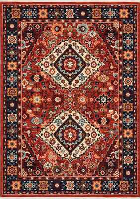Oriental Weavers Lilihan 2061V Red/Burgundy