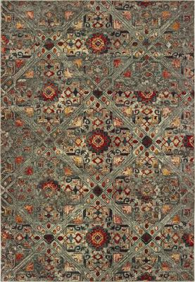 Oriental Weavers Mantra 003X7 Gray/Silver