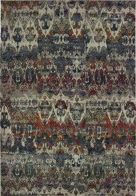 Oriental Weavers Mantra 048V7 Gray/Silver