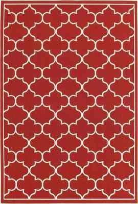 Oriental Weavers Meridian 1295R Red/Burgundy