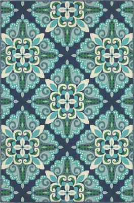 Oriental Weavers Meridian 2206B Blue/Navy