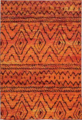 Oriental Weavers Nomad 8122O Orange/Rust