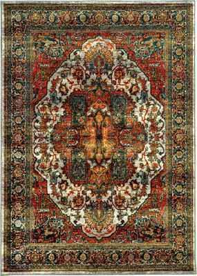 Oriental Weavers Sedona 6382B Orange/Rust
