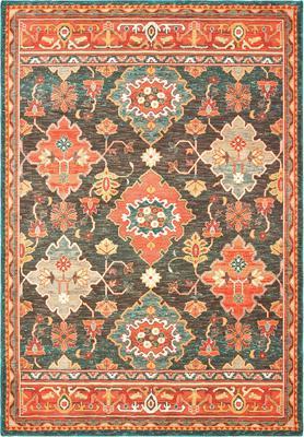 Oriental Weavers Toscana 9570B Orange/Rust